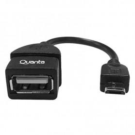 Adaptador Micro USB OTG - Quanta QTMUS10