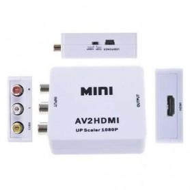 Conversor Adaptador Video 3 Rca AV p/ HDMI