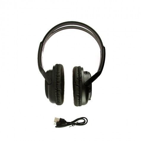 Fone de Ouvido estéreo sem Fio com Leitor De Cartão De Memória Micro SD - Inova