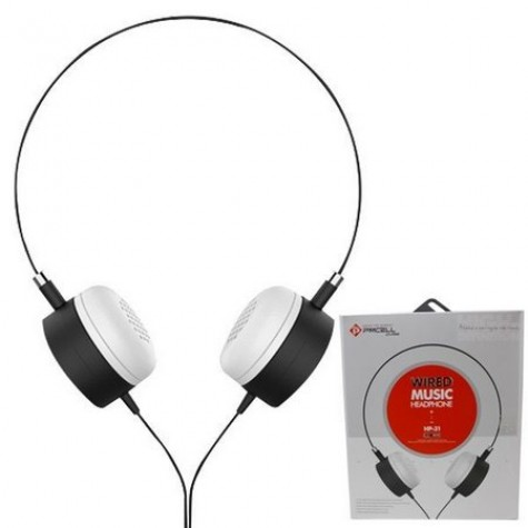 Fone de Ouvido Headphone Stereo Wired Music Hp-31