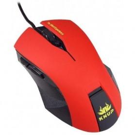 Mouse Gamer Silent 2400 Dpi Usb 5 Botões - Knup