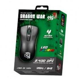 Mouse Gamer DRAGON WAR 2400DPI