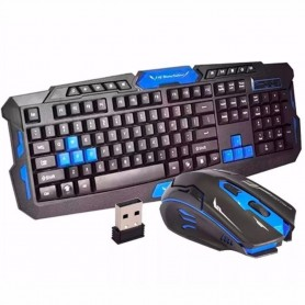 Kit Teclado + Mouse Wireless Sem Fio Gamer - BM-T07